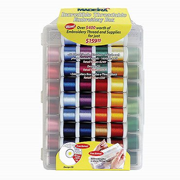 Rayon Incredible Threadable Embroidery Box