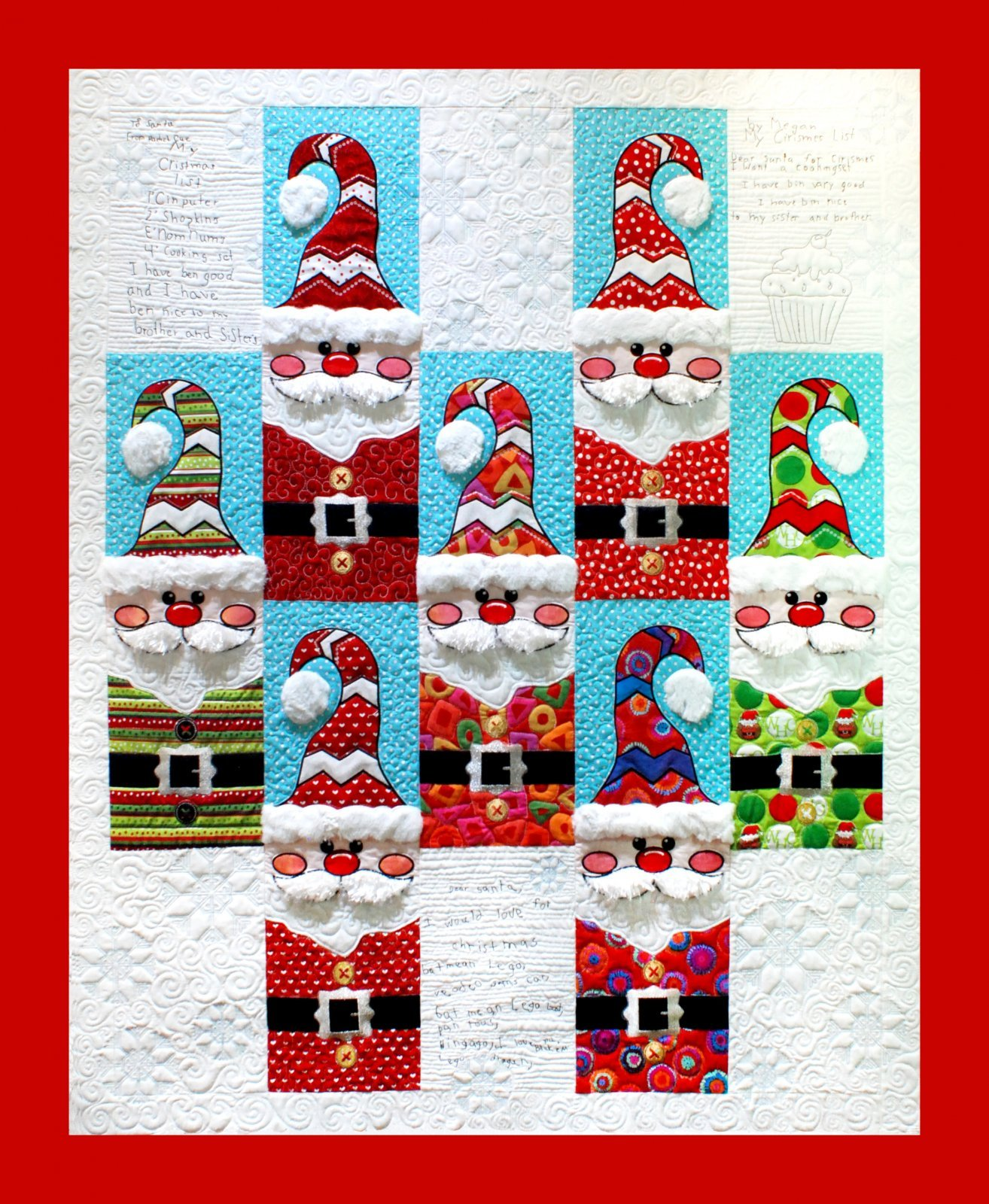 Letters to Santa Embroidery CD