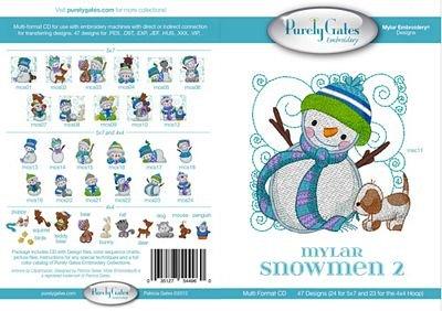 Mylar Snowman 2