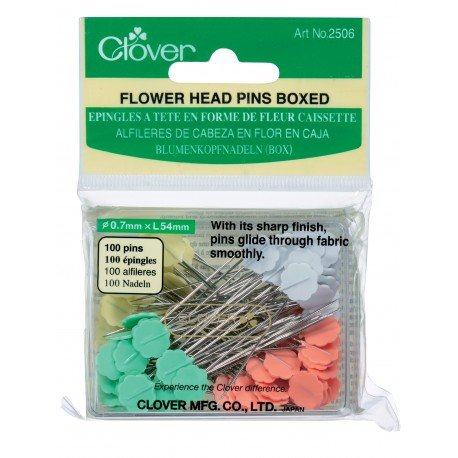 Flower Head Pins 100 count