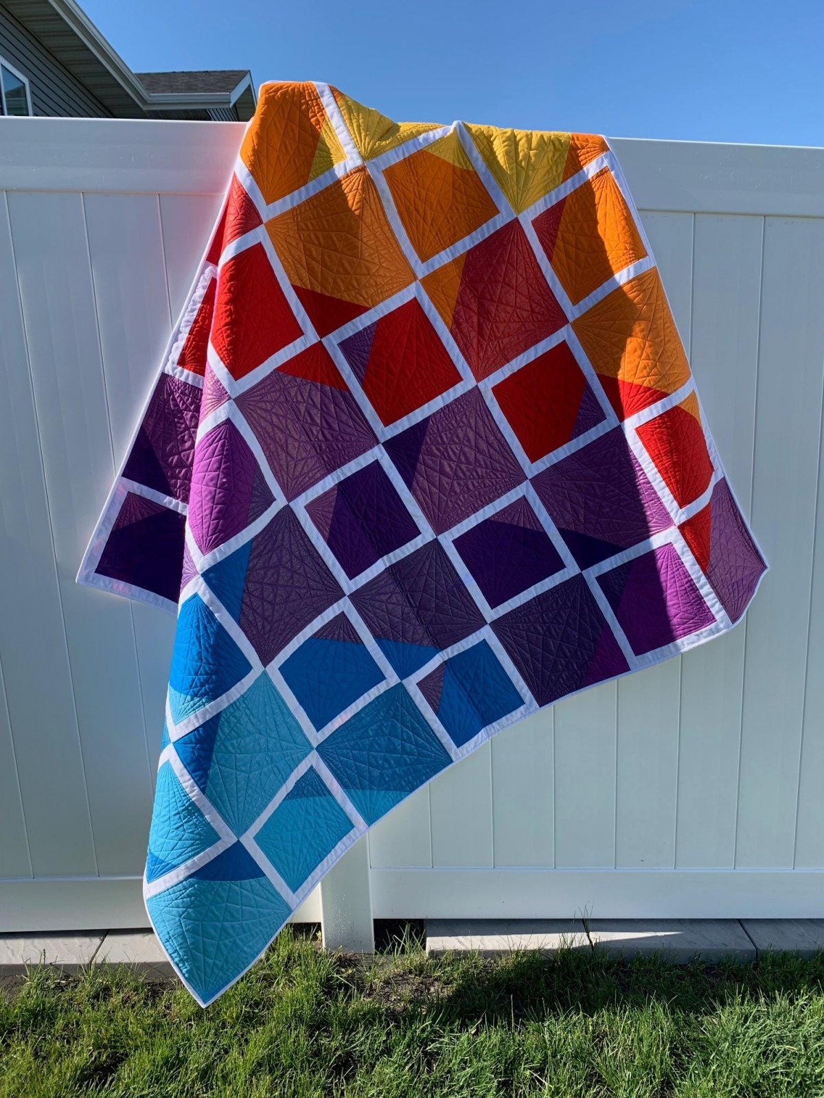 Pop of Color Quilt Kit