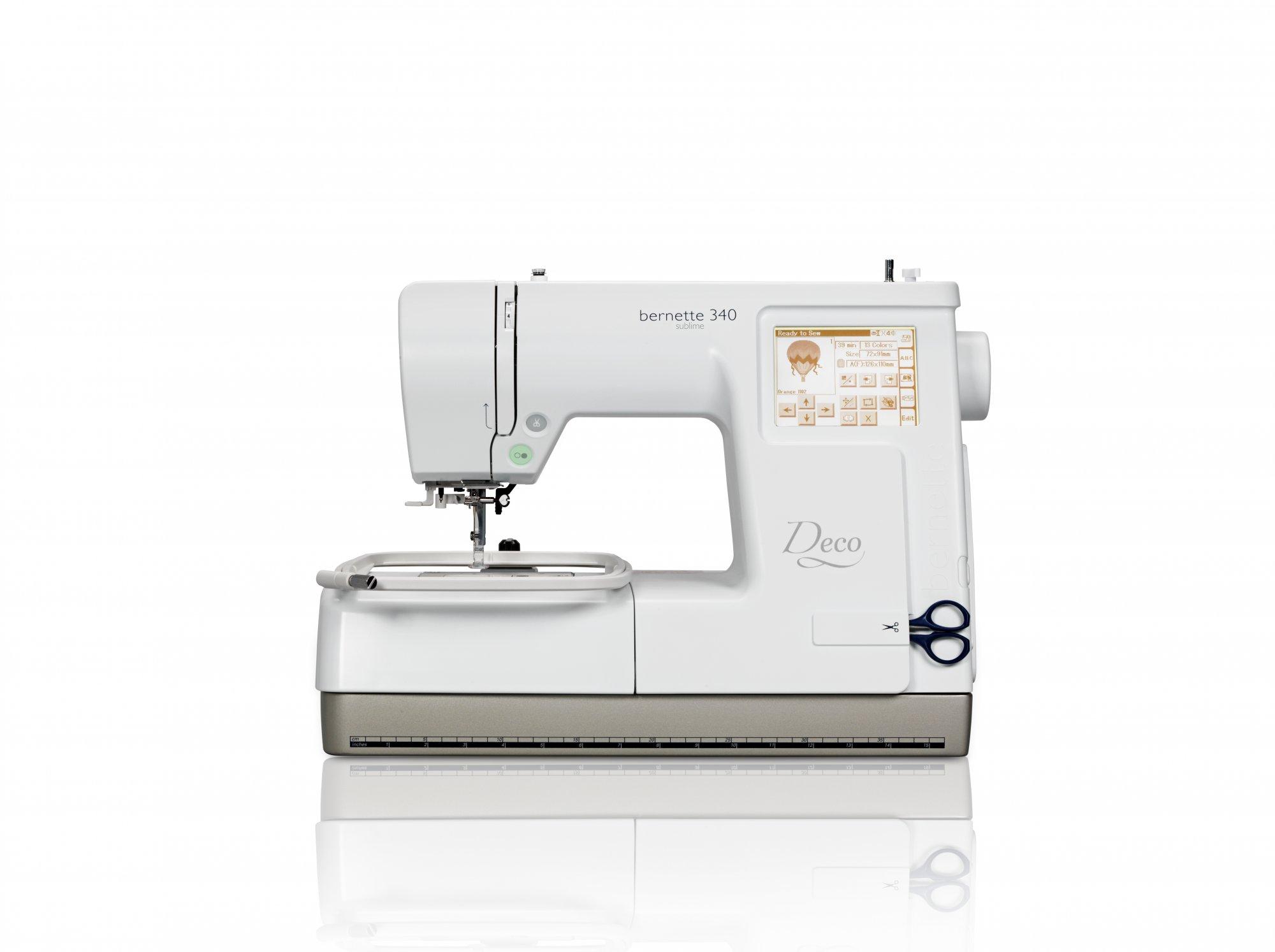 Bernette Deco 340 Emb Sewing Machine
