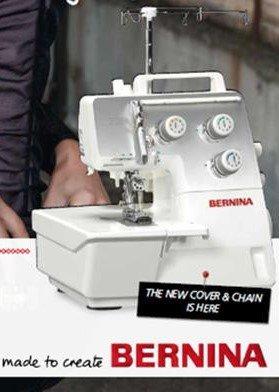 Bernina L220 Cover Stitch Serger Machine