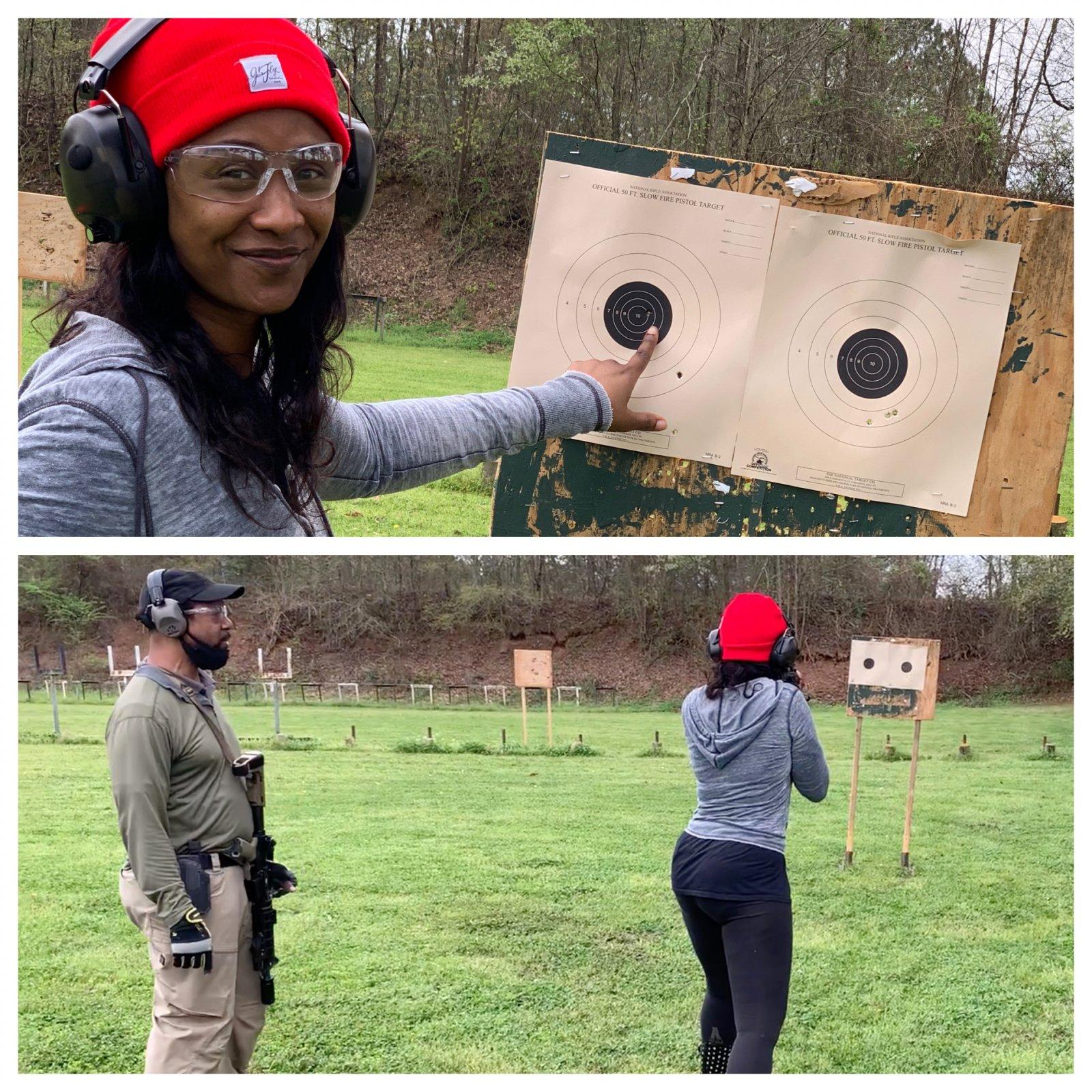 Private Gun Range Session - Beginner