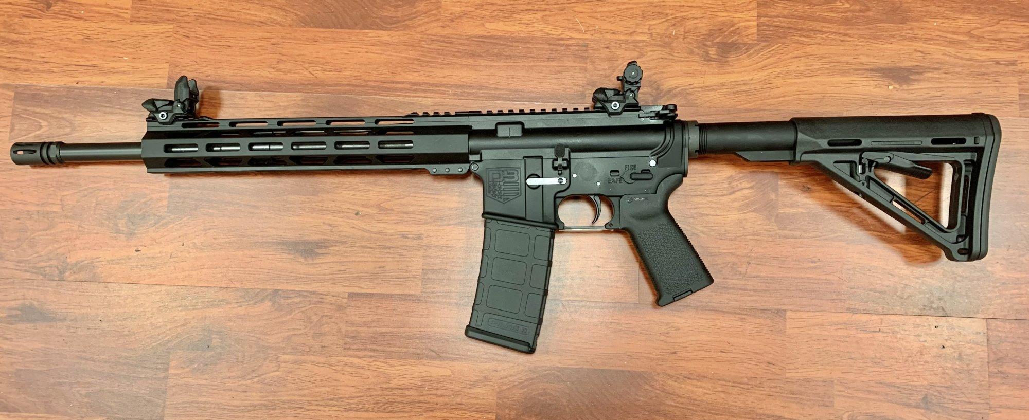 Diamondback DB-15 AR15 Rifle w/ Flip-up Sights