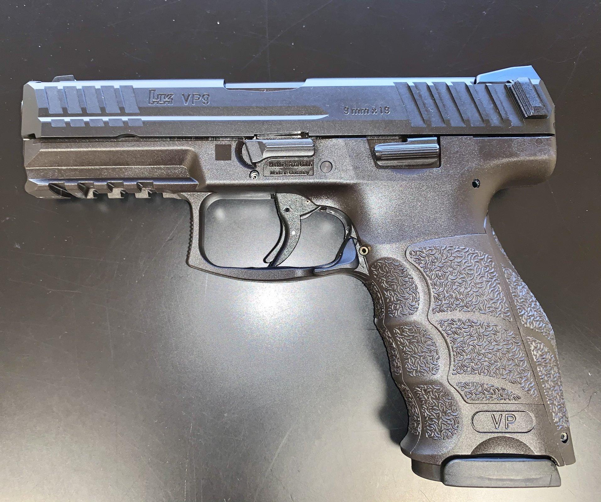Heckler & Koch VP9 9mm Pistol - Black