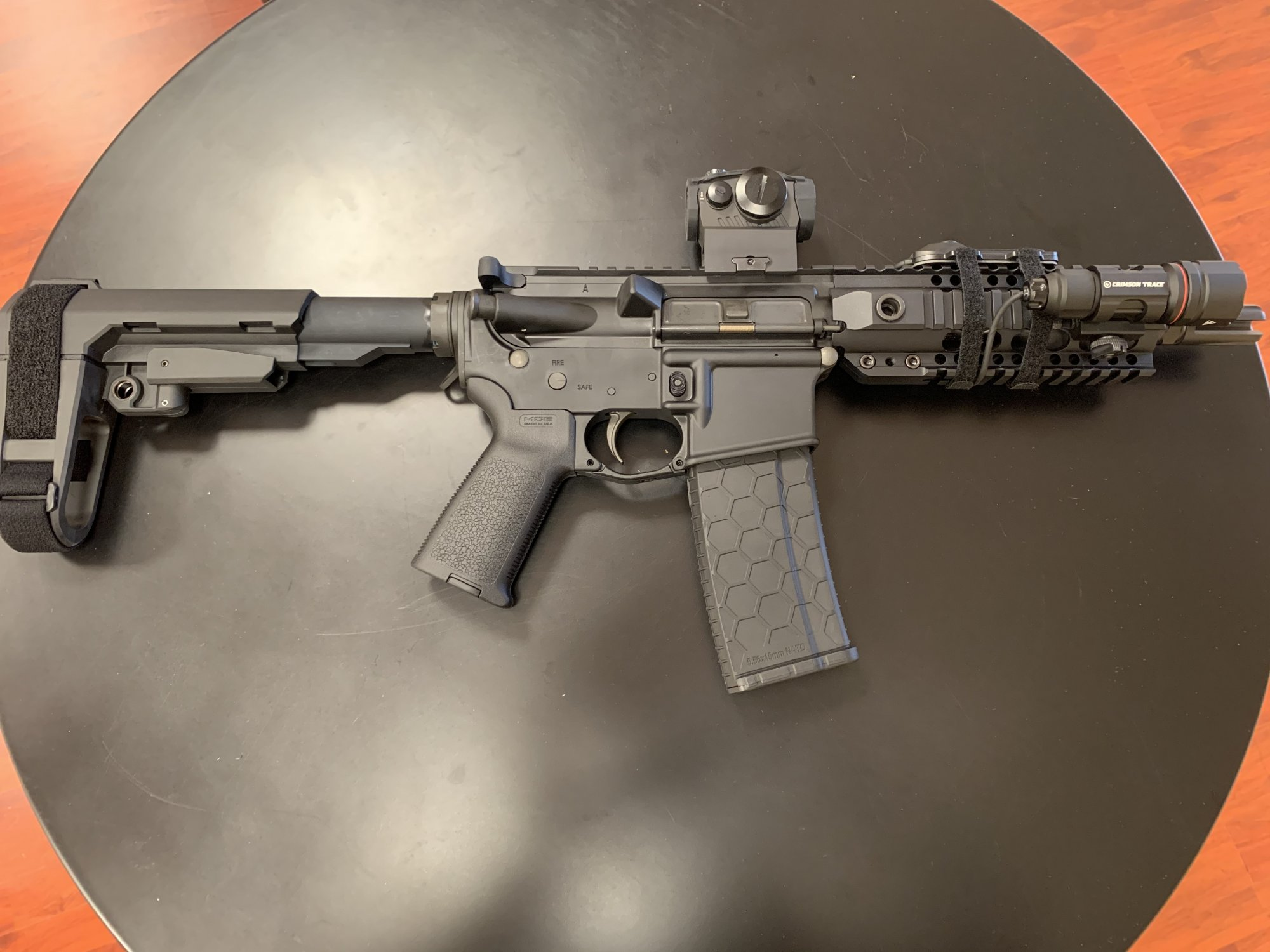 Bushmaster XM-15 AR15 Pistol (7.5in barrel)