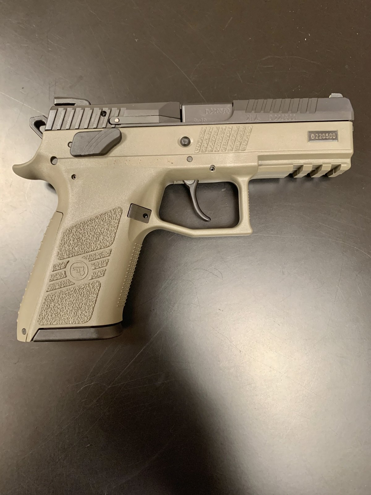 CZ P-07 9mm Compact Semi Automatic Pistol - ODG
