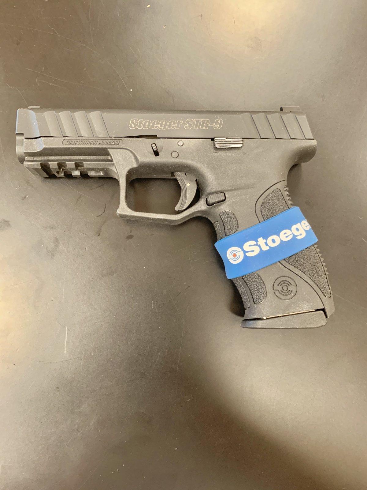 Stoeger STR-9 Semi Automatic Pistol - Black