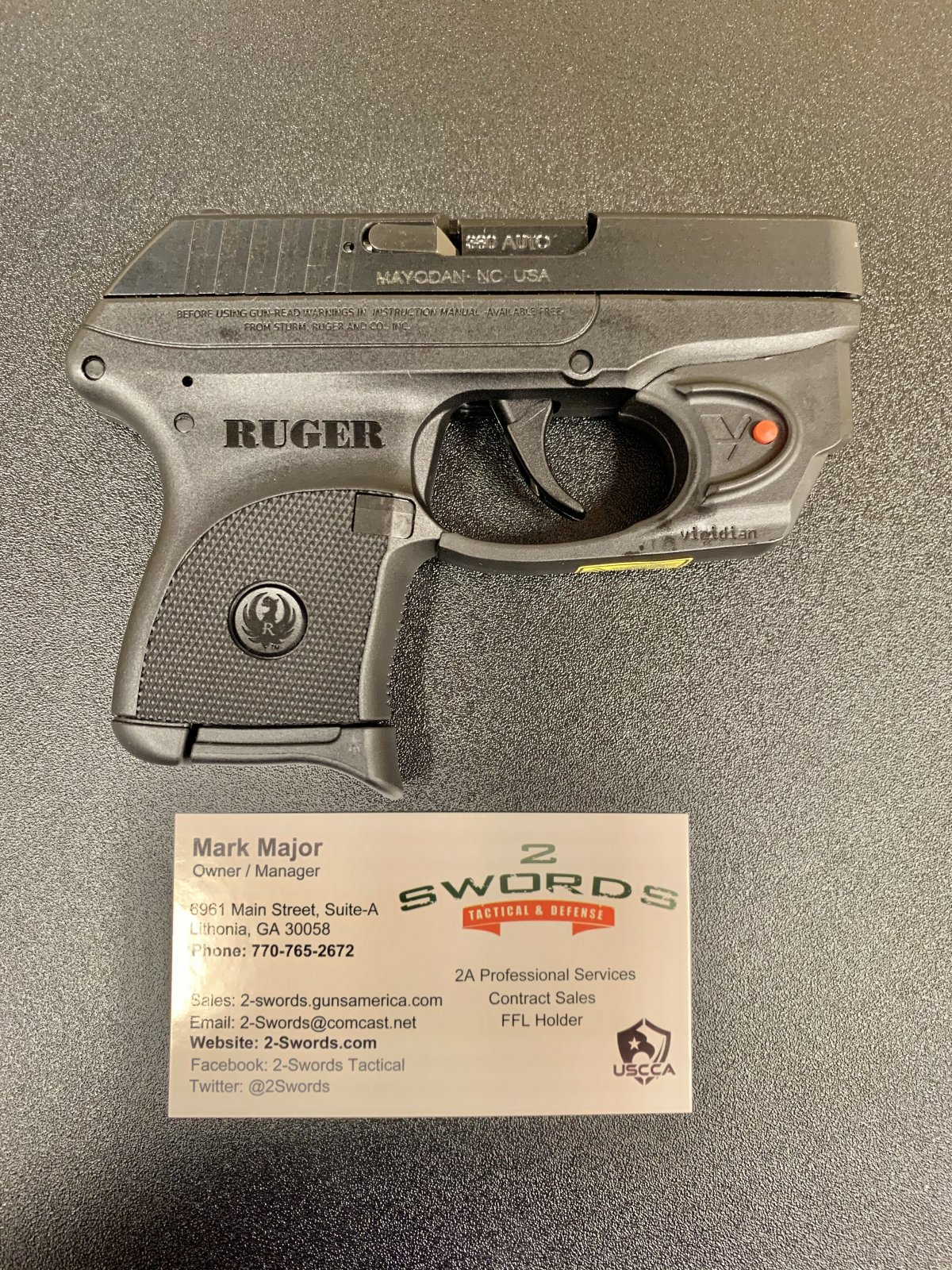 Ruger LCP 380 w/ Laser