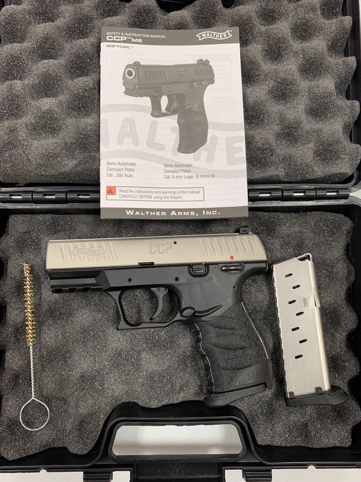 Walther CCP 380 Semi-Automatic Pistol