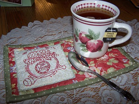 Honey Pot Mug Rug Pattern