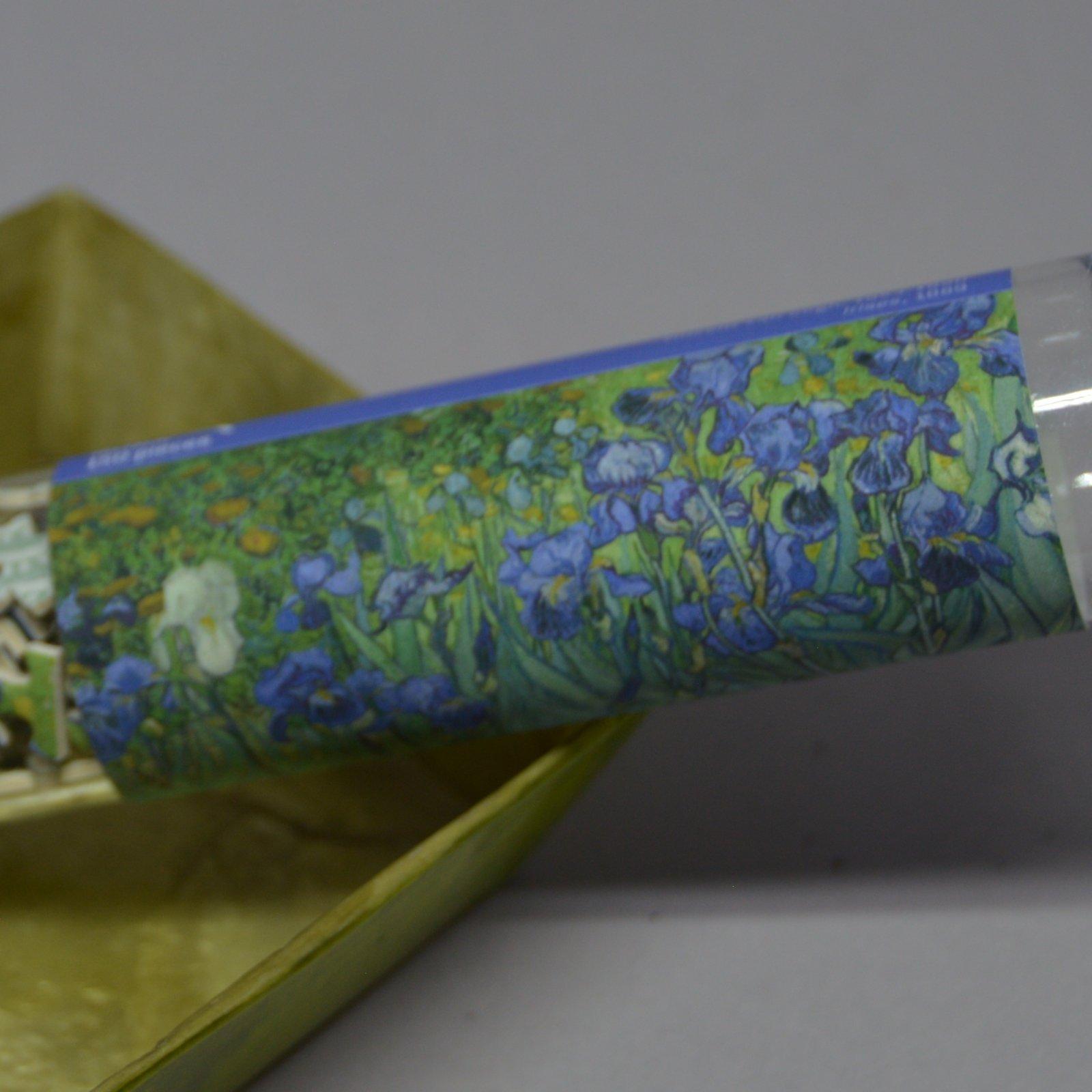 Puzzle micro Irises by Van Gogh