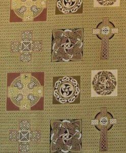 Celtic Metallics Collections by Fabric Freedom (FAFF734-4)
