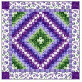 Catalina Ultra-violet Mesmerizing quilt