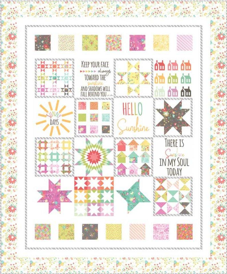 Sunnyside Up quilt kit