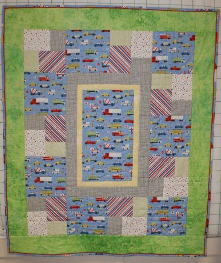 Keep on Truck'n Quilt Kit