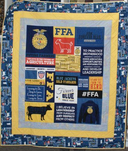 FFA Finished Quilt