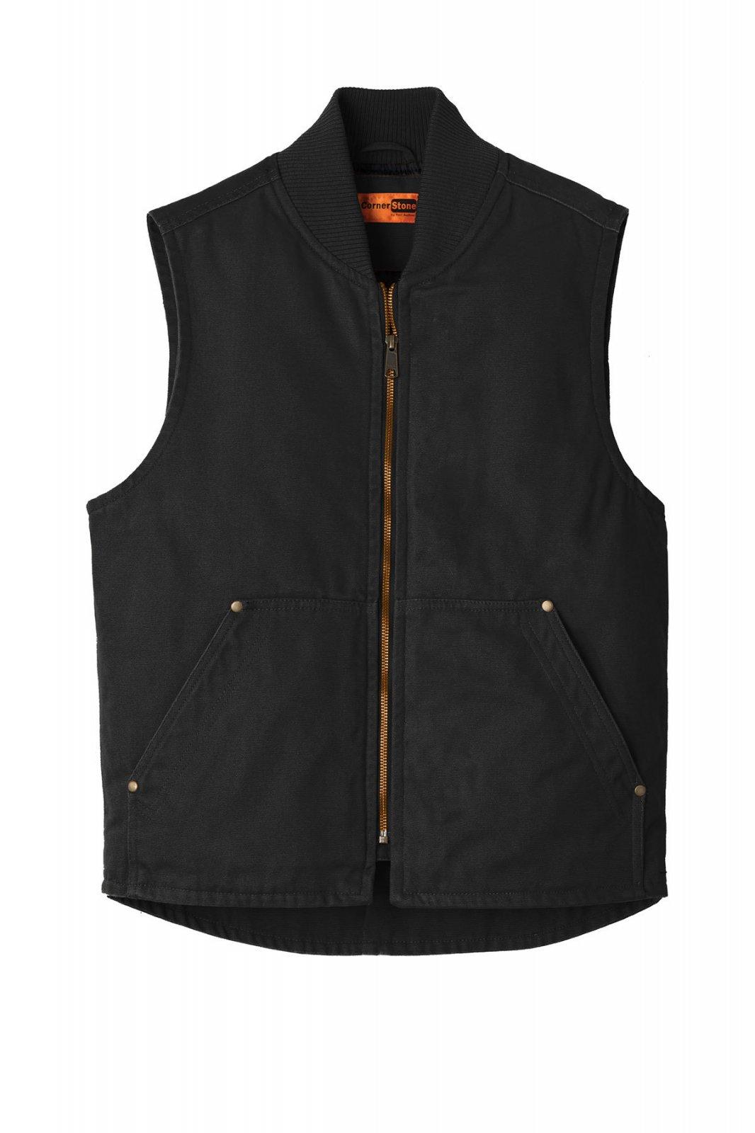 CSV40 CornerStone Washed Duck Cloth Vest