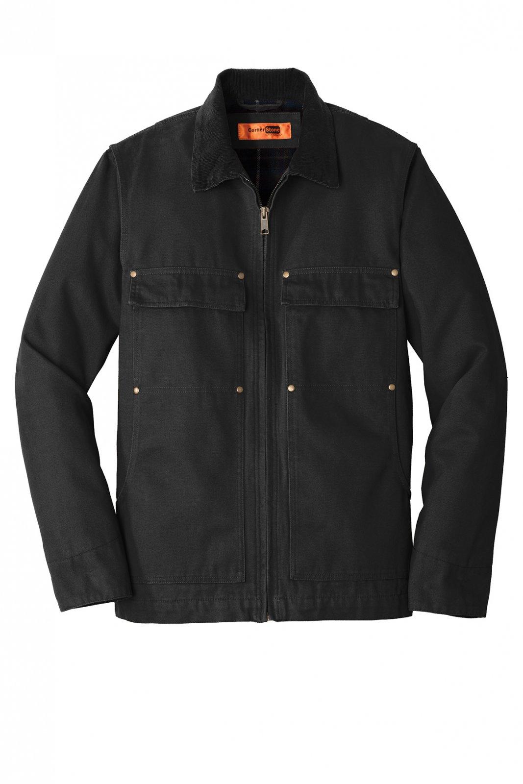 CSJ50 CornerStone Washed Duck Cloth Chore Coat