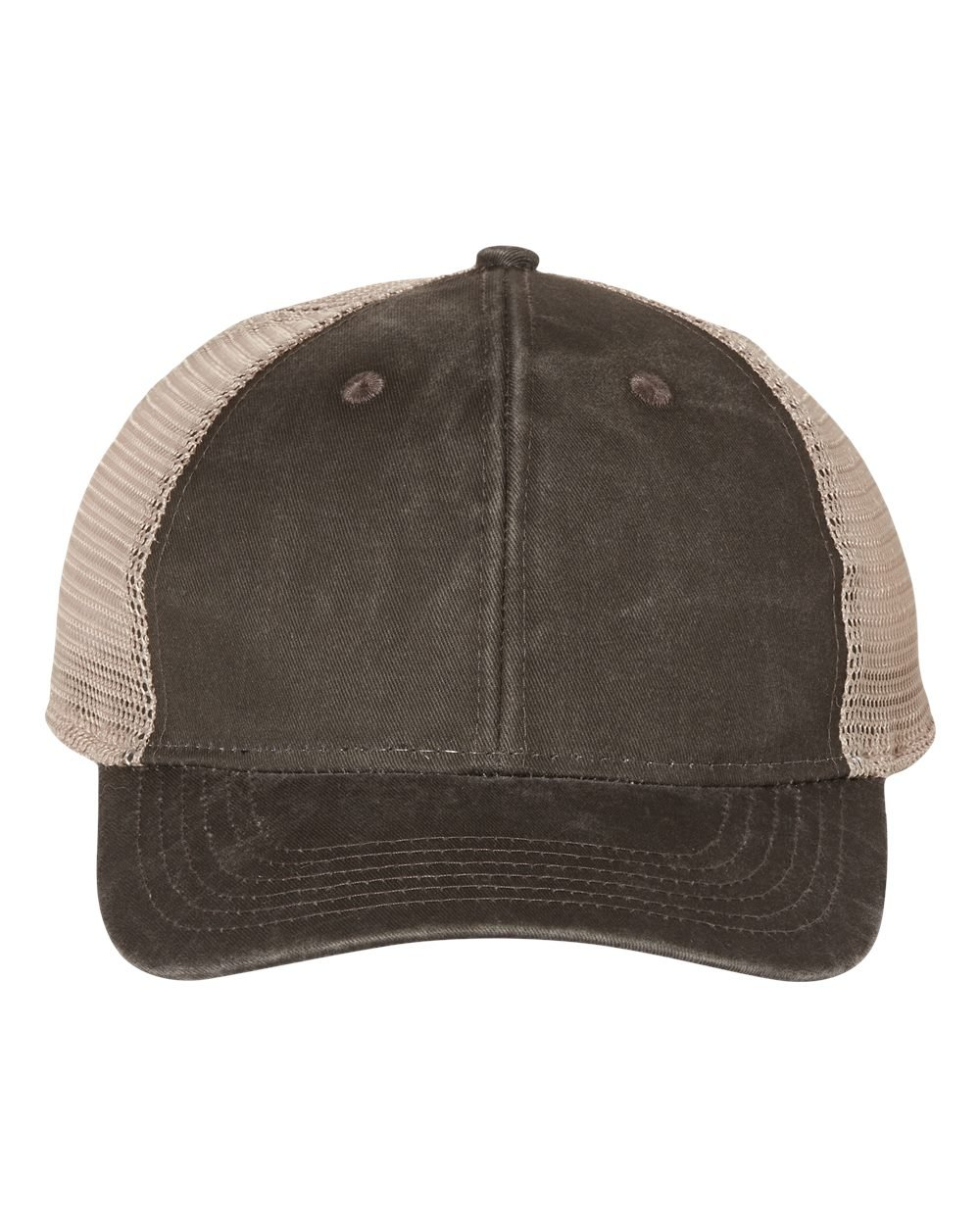 PNY100M - Outdoor Cap - Ponytail Mesh-Back Cap