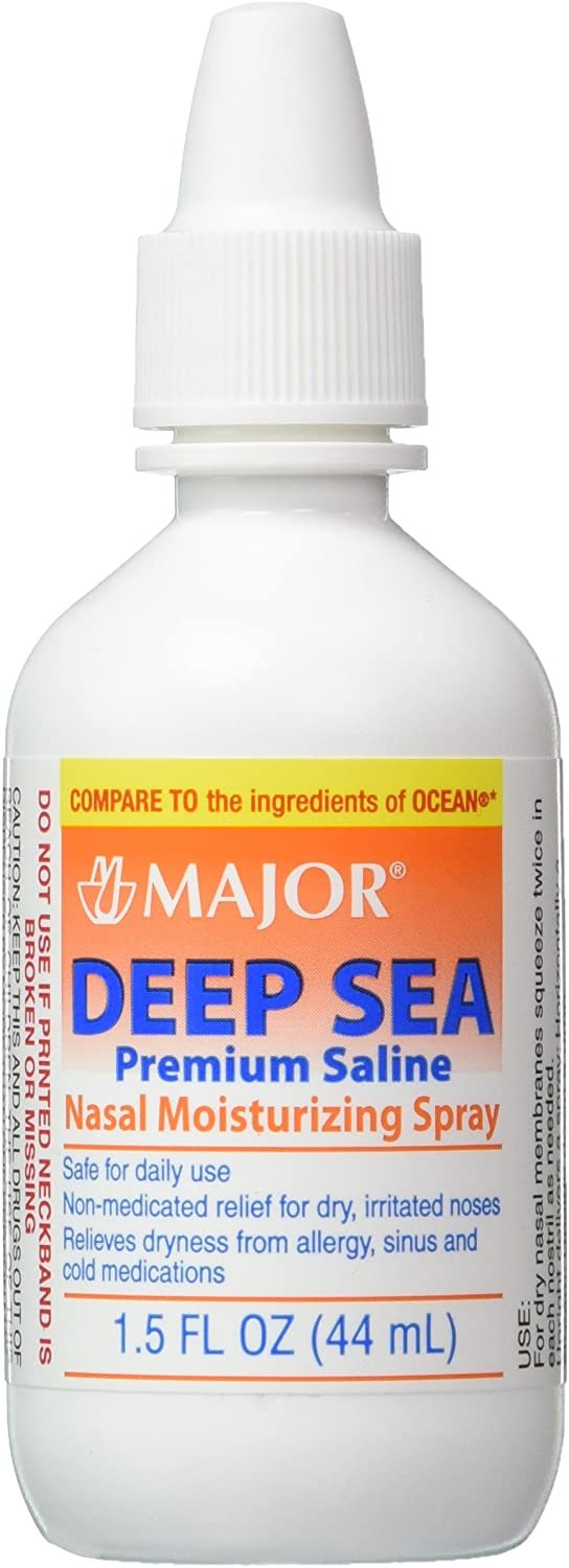 Deep Sea Premium Saline Nasal Moisturizing Spray