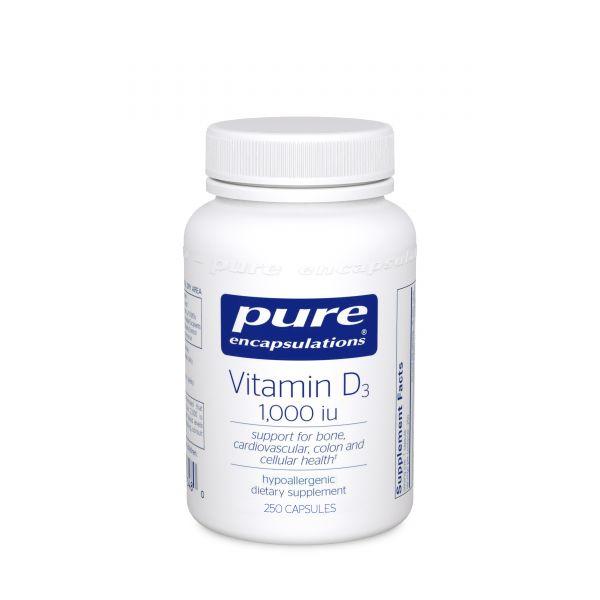 Vitamin D3 25mcg 1000 units