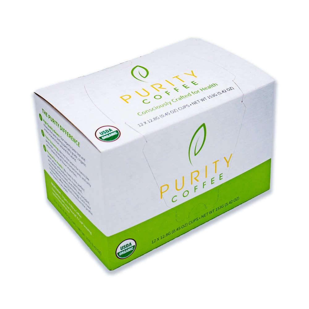 Purity Coffee Decaffeinated Pods