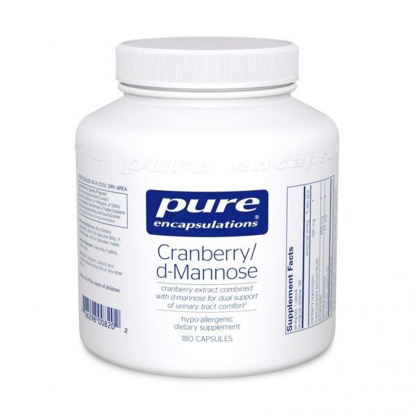 Cranberry/d Mannose Capsules