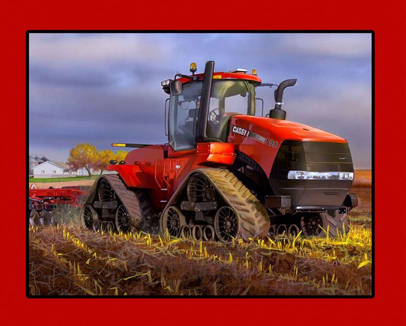 Print Concepts - Case IH Panel - 10092-2 - (W-22)