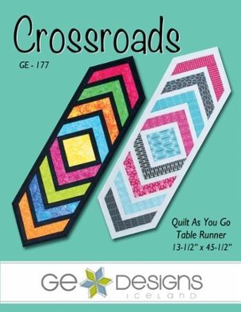 Crossroads Table Runner - GE Designs - GE-177