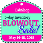 May Blow Out Sale