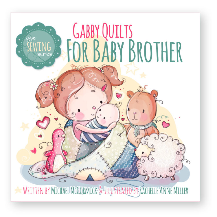 Gabby Quilts for Baby Brother - BBC-LSS-003-A