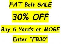 30% off 6 yards or more