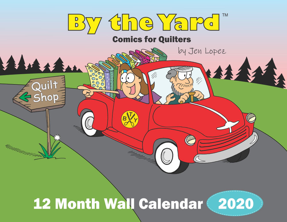 Calendar 2020 By The Yard? Wall Calendar - Jen Lopez