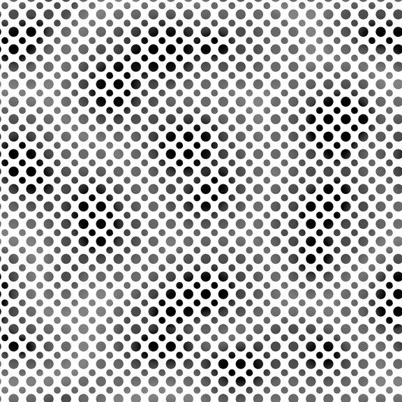 QT - Ombre Dots - 23413-J Black