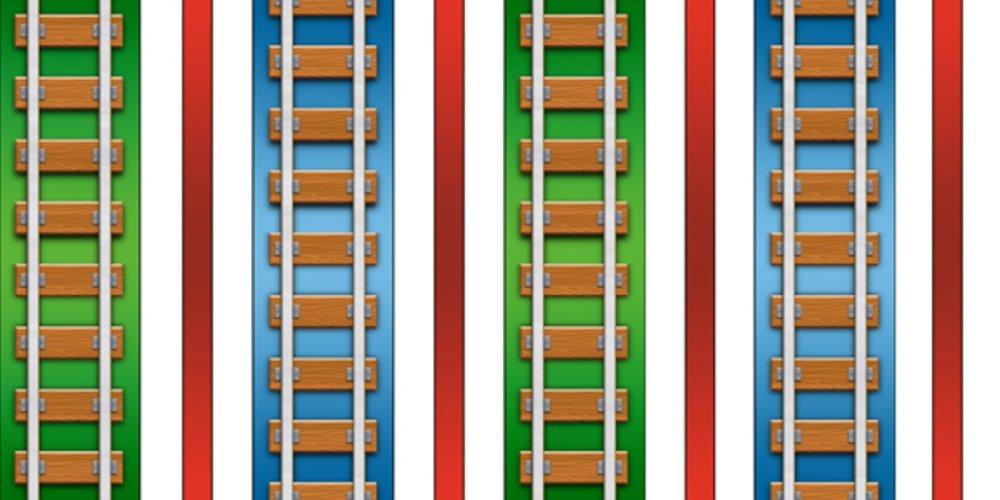 QT - The Color Express -Multi - 23564-X