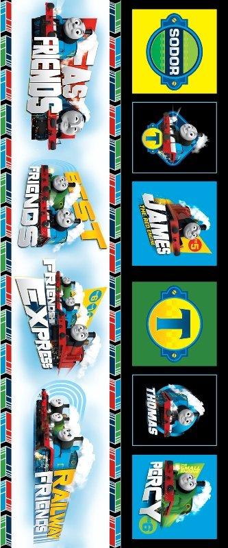 QT - Fast Friends - Scenic Stripe/Blk - 23892-J