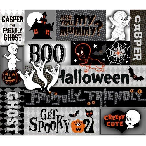 QT - Creepy Cute-Halloween Patch Panel - 23946-J
