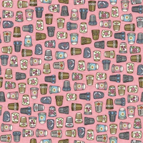QT - Thimble Pleasures-Thimbles/Pink - 24159-P