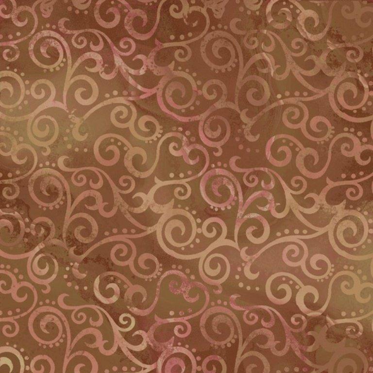 QT - Ombre Scroll - 24174-A Sable
