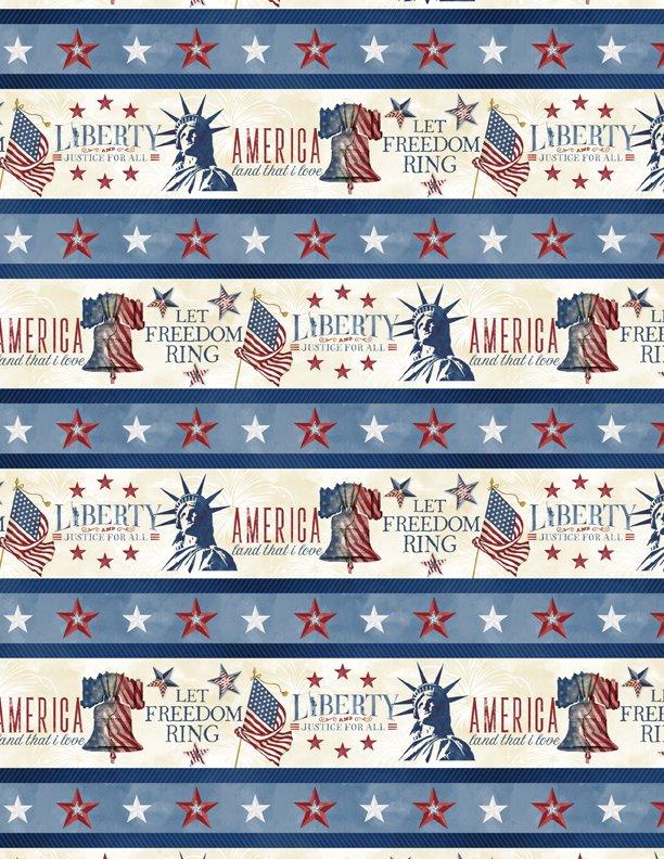 WILMINGTON - Liberty Lane-Border Print/Multi - 1031-84454-243