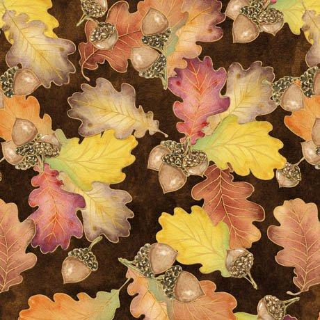 QT - Harvest Bounty-Acorn/Leaf Toss - 24500-A