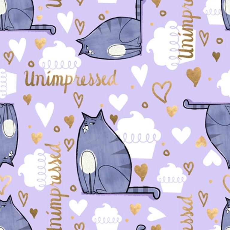 QT - Secret Life of Pets-Gidget Unimpressed/Lt. Lilac - 24760-L
