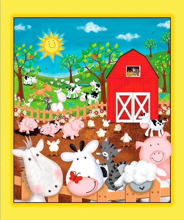 QT - Animal Farm-Panel - 24947-X - J-19