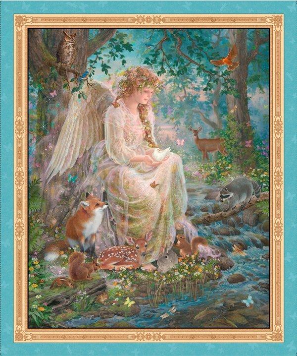 QT - Artworks IV- Nature's Angel Panel - 25818-X (N36)
