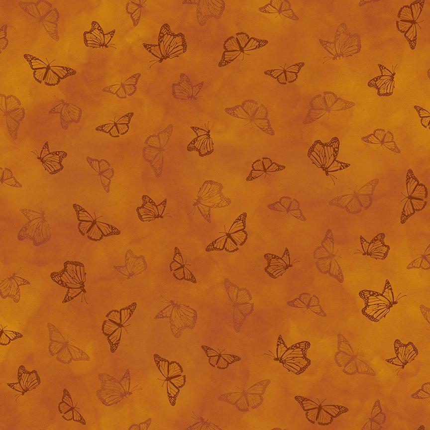 Qt Serenity Prayer Butterflies Orange 25827 T