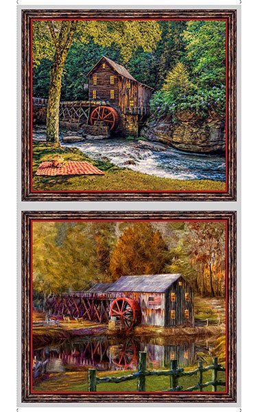 QT - Artworks VIII BARNS PICTURE PANEL - DIGITAL - (N-43)