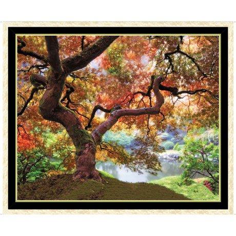 QT - Artworks XII TREE PANEL MULTI - 27199-X - N-15