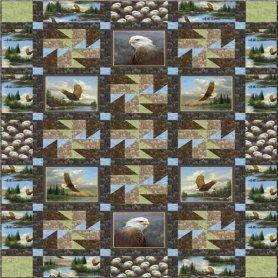 Majestic Eagles FREE pattern download